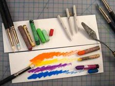 OIL PASTELS.A great overview of  Oil pastels on one page - might use this for an art club night and let them CREATE!  A great reference for drawing class