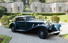 The ex-Count von Reventlow  1936 Mercedes-Benz 500K Cabriolet A  Coachwork by Sindelfingen
