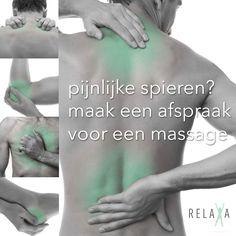 Pijnlijke spieren? maak snel een afspraak voor een massage -06 23584328
