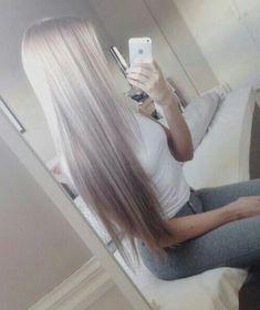 #beautiful #pretty white #blonde straight #hair