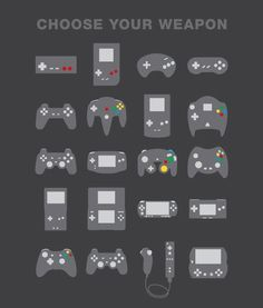Choose Your Weapon and let the Games Begin!
