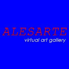 ALESARTE LOGO 2 Virtual Art, Online Portfolio, Art Gallery, Neon Signs, Artists, Logo, Art Museum, Logos, Logo Type