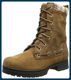 Sebago DORSET LACE B512102, Damen Schneestiefel, Mehrfarbig (BROWN/PLAID), EU 40 (UK 6.5) (US 9) - Stiefel für frauen (*Partner-Link)