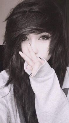 Simple Skin Care Tips And Advice For You Hair Style Girl emo girl hair cut style Scene Hair Bangs, Emo Bangs, Short Scene Hair, Emo Scene Hair, Emo Haircuts For Girls, Emo Girl Hairstyles, Easy Hairstyles, Updo Hairstyle, Wedding Hairstyles