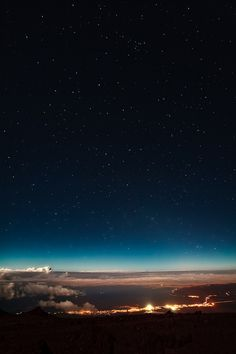 Eric Rolph captured this beautiful view from above Maui, Hawaii.