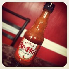 Frank's Red Hot Original. I put hot sauce on just about everything, but Frank's is still my fave!!