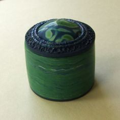 Blue and Green Trinket Box