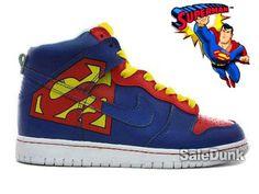 Nike hightops.............. SUPERMAN!!!!!!!!!!!