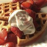 To add great malt flavor to these waffles, use malt-flavored Ovaltine or Carnation Malted Milk. Serve with Mixed Berry Sauce, warm maple syrup or Strawberries & Cream.