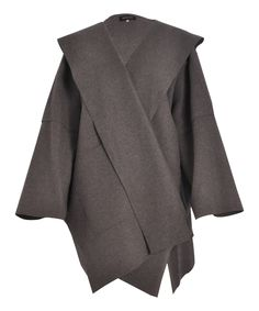 grey hooded coat, eskandar