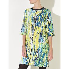 Buy Kin by John Lewis Artwork Print Dress, Multi Online at johnlewis.com