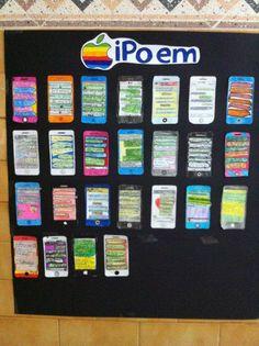 """Ipoem. Poemas de arte mayor y menos escritos en """"conversaciones"""" de whatsapp de iphone. 6º Primaria. Colegio Santa María del Naranco."""