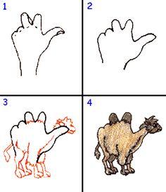 Knutselen voor kinderen: Zelf dieren tekenen