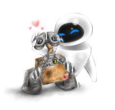 *WALL-e and EVE Wall-e