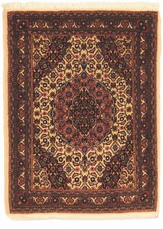 SAROUK CARPET, WEST PERSIA  Dimensions: Approx. 84 x 68 cm I  Albahie Auction House