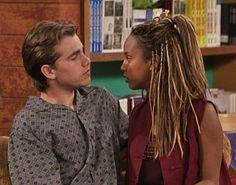 Shawn Hunter and Angela Moore (Boy Meets World).