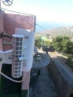 Instalación de Air Internet en Granja Avícola - WiFi Canarias conectando con el Sector Primario !!