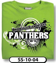 Design Custom School Spiritwear T Shirts, Eagles Hughes Elementary