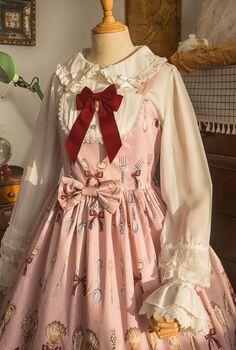 Little FairyTale -My Cute Tableware- Sweet Lolita Jumper Dress