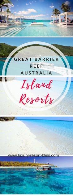 Australia Destinations – Great Barrier Reef Island Resorts, Queensland Australi… – Travel and Tourism Trends 2019 Australia Destinations, Travel Destinations, Queensland Australia, Australia Travel, Western Australia, Honey Moon, Romantic Resorts, Romantic Honeymoon, Bali