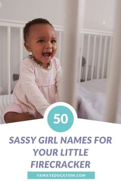 Need a fun girl name for your baby on the way? For picks that highlight that attitude and spunk she'll grow into with age, look no further than these sassy girl names. #babynames #girlnames #sassygirl