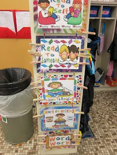 the daily five Daily 5 Station/Literacy Station Organization Linky Party Candy Land