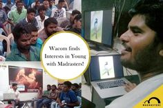 Wacom finds Interests in Young with Madrasters!  #MadrastersEvangel #WACOM…