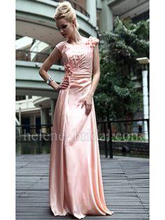 Sheath / Column Jewel Long / Floor-Length Evening Dress - US$ 279.99 - Style ED8738 - Helene Bridal