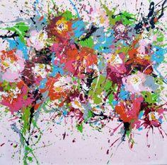 "Saatchi Art Artist Isabelle Pelletane; #Painting, ""Liberty"" #art  www.isabellepelletane.com"