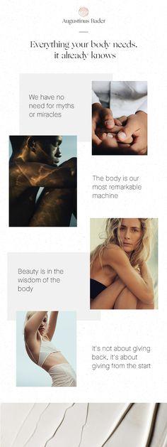 The Future Of Skincare #TheBodyKnows