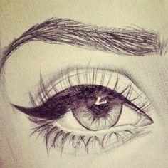 Eye sketch.
