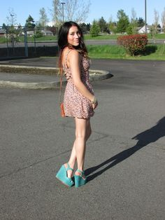 Blogger Andy of AndyStyle looking fab in Charlotte Russe shoes! I love these shoes! Gonna go buy me a pair today.