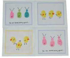 Easter finger crafts fingerprint art, school, easter card, thumb prints, easter crafts, easter bunny, thumbprint easter, kid, easter ideas