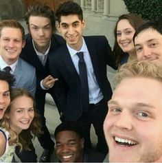 Maze Runner Cast at Ki Hong Lee's Wedding. Love this picture!