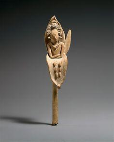 A Maya figure depicting the young Maize God. (Metropolitan Museum of Art)