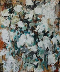 SOLD Cotton IV by Caroline Youngblood