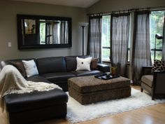 just a little cheetah for fun living room designs decorating ideas hgtv rate