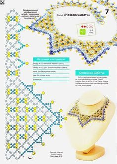 Nice collar, no written instructions but a good pattern!