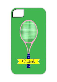 Polka Dot Design offers personalized gifts for teachers, gifts for entertaining, thank you gifts, & personalized iPhone cases for graduation gifts. Iphone 5 Cases, 5s Cases, Iphone 4, Tennis Videos, Personalized Teacher Gifts, Tennis Fashion, Play Tennis, Graduation Gifts, Thoughtful Gifts