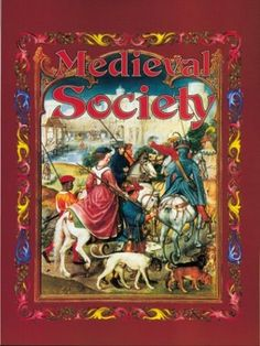 """Medieval Society (Medieval World (Crabtree Paperback)) by Kay Eastwood, """"Describes life under the feudal system, the growth of towns and trade, and the influence of the church on society. This work captivates young readers by providing an account of the daily lives of: the nobility; knights; peasants; monks and nuns; townspeople; and medieval Muslims. It is suitable for ages 7-14."""""""