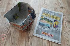 Nuckelpille By Bf Alternative Zu Mulltuten Diy Mullaufbewahrung Aus Zeitungspapier Recycling Basteln Nachhaltigkeitsprojekte Papier