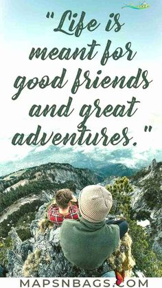 The 100 Most Inspirational Travel Quotes Of All Time Get your dose of inspiration with the best travel quotes of all time! Fuel your wanderlust, and let your gypsy soul explore the world with these inspirational adventure quotes. Including friendship, couple, short, solo, and funny quotes to help you express good memories. Check it out! | Quotes on travel | Travel quotes inspirational | travel quotes wanderlust #TravelQuotes #Motivation #Inspirational #wanderlust #mapsnbags<br> Wanderlust Travel, Adventure Quotes Wanderlust, Adventure Travel, Adventure Quotes Outdoor, New Adventure Quotes, Travel Couple Quotes, Best Travel Quotes, Cinque Terre, Diy Disney
