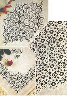 Photo from album on Yandex. Crochet Motif, Views Album, Animal Print Rug, Simple, Blog, Yandex Disk, Handmade, Beautiful, Doilies