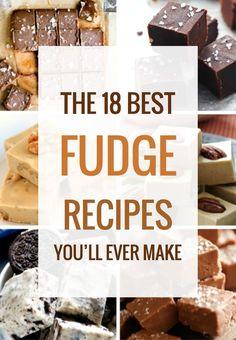 The 18 Best Fudge Recipes Ever