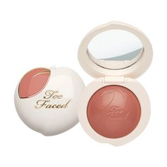 Peach My Cheeks Blush ($34) ❤ liked on Polyvore featuring beauty products, makeup, cheek makeup, blush and powder blush