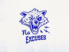 No Excuses Cat by Andrey Gargul