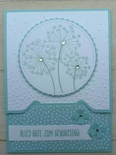 """Workshop project """"Card for money gifts"""" - Card for vouchers or monetary gifts, Dandelion Wishes, Envelope Punch Board, Quiet trickle, birthda - Envelope Punch Board, Fancy Fold Cards, Folded Cards, Diy Birthday, Birthday Cards, Animals Vector, Ideas Scrapbook, Fun Craft, Dandelion Wish"""