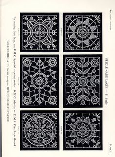 DMC Library Needle-Made Laces - eva lon - Picasa Web Albums
