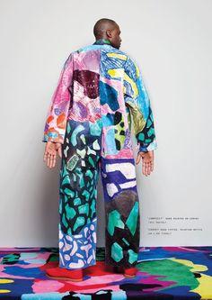Marie Sophie Beinke official artist page Painter photographer designer assis Weird Fashion, Colorful Fashion, Look Fashion, Fashion Art, High Fashion, Fashion Design, Viborg, Textiles, Fashion Project