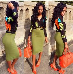 Casual Stylish Business Outfit for the Ladies Business Casual Attire, Professional Attire, Business Outfits, Business Wear, Fashion Killa, Look Fashion, Skirt Fashion, Fashion Outfits, Fashion Ideas